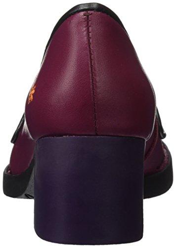 b15 Cherry Art d35ack bl viola pumps stella Bristol donna qn0wO7F