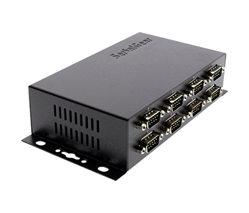 Coolgear Industrial 8-Port DB-9 RS232 to USB Adapter with Isolation and Surge Protection by SERIALGEAR (Image #1)