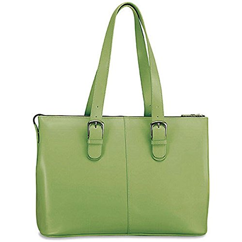 Jack Georges Milano Madison Avenue Business Tote 3902 (GREEN) by Jack Goerges
