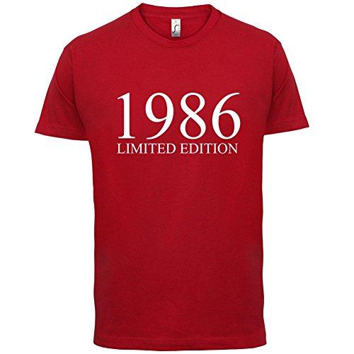 1986 Limierte Auflage / Limited Edition - 31. Geburtstag - Herren T-Shirt - Rot - M