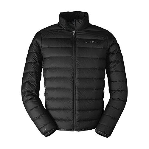 Eddie Bauer Men's CirrusLite Down Jacket, Black Regular L by Eddie Bauer