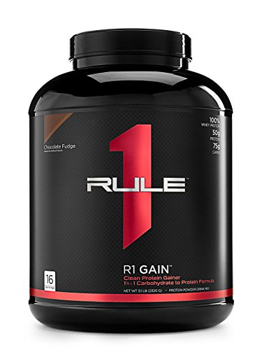 R1 Gain, Rule 1 Proteins (Vanilla Creme, 16 Servings)