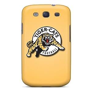 VCsTr18421BANwK Hamilton Tiger Cats Fashion Tpu S3 Case Cover For Galaxy