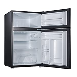 Willz WLR31TWE 3.1 cu.ft. Refrigerator Dual Door True Freezer, White