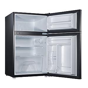Willz WLR31TWE 3.1 cu.ft. Refrigerator Dual Door True Freezer, White