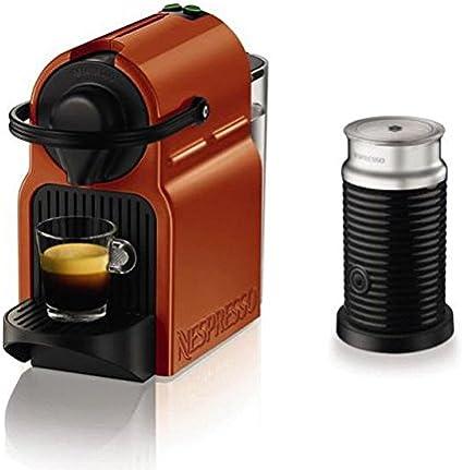 Turmix TX 155 Inissia Naranja automática + Cápsulas de Nespresso Aeroccino espumador de leche: Amazon.es: Hogar