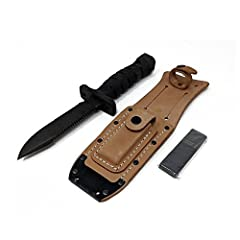 The O.K.C. Aircrew Survival Egress Knife or ASEK, was issued to U.S. Army aviation vests for the purposes of breaking through acrylic aircraft windows, cutting though the skin of an aircraft, being used as a hammer, cutting electrical cables ...