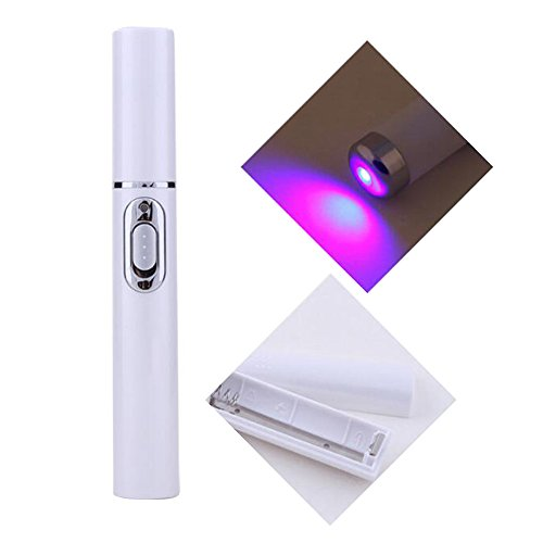 Enshey Remove Acne Pen Portable Acne Laser Machine Bio Anti Inflammation  Skin Repairing Device Led Blue Light Skin Care Tool