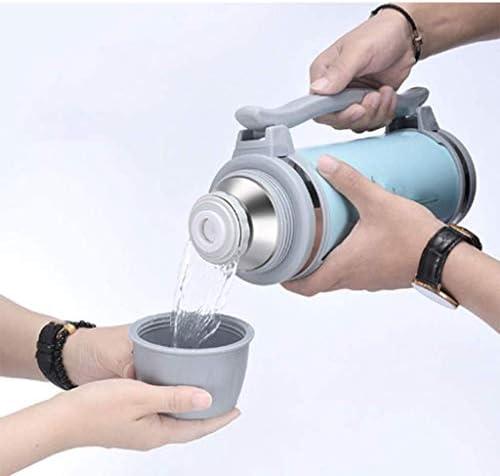 thermosflessen Buitenisolatiepot 304 Roestvrij Staal Grote Capaciteit 1.5L Dubbele Vacuüm Draagbare Waterkoker Stationwagen pot