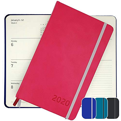 2020 Planner - Yearly, Weekly, Monthly, Daily Planner 2020-2021 with Calendar 2020-2021 Planner Organizer (Pink) | 2020 Weekly Planner 2020 Monthly Planner Yearly Planner 2020 Weekly Monthly Planner