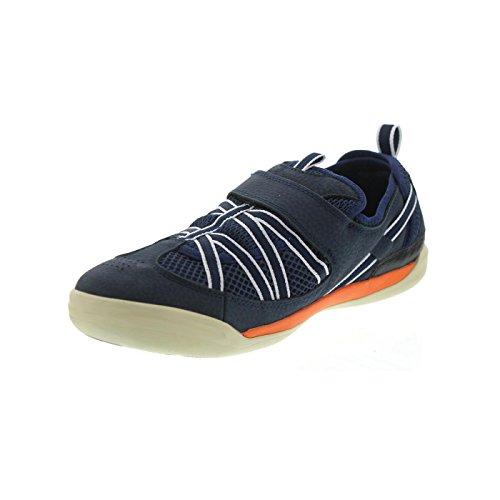 Uomo amp; Arancione Scarpe Arancione Velcro TBS Blu Vela Nassau da Navy q0Baww7Ot