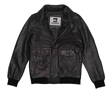 Vêtements Quiksilver Noir Lazer Da Cuir Et Blouson w1qpXX
