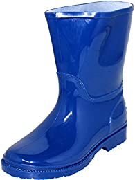 Amazon.com: Blue - Rain Boots / Outdoor: Clothing Shoes &amp Jewelry