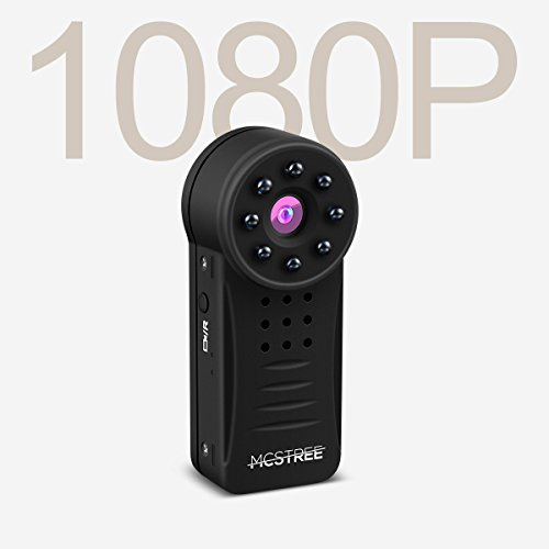 MCSTREE Hidden Security Camera: Home Security Camera| 150? Angle, Night Vision, Motion Detection Spy Mini Hd 1080p Camera| Wireless Ip Surveillance Camera For iPhone/Android/Ipad (Support 64G SD Card)