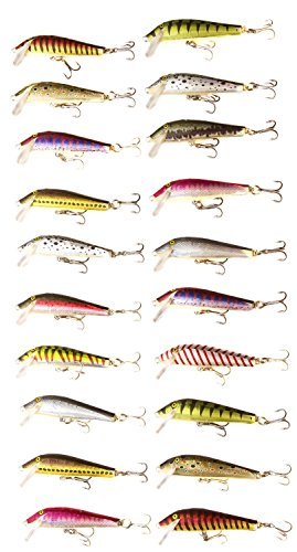 Crankbait Building Kit by Muddy Bros (Build 20 Quality Lures) ()