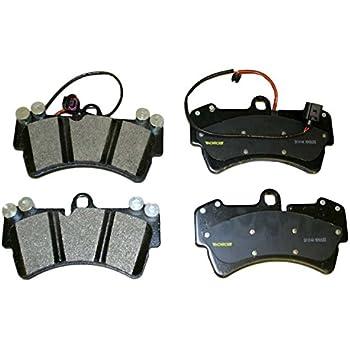 BREMBO P85065N Front Ceramic Brake Pad Set w//Sensor For Cayenne//Touareg 350mm