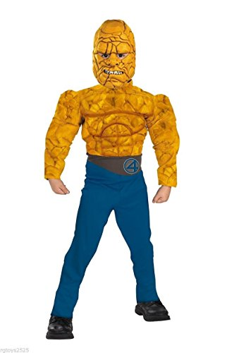 The Fantastic 4 Costumes (Fantastic Four Muscle Costume - The Thing: Size 7-8)