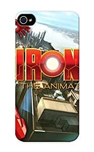 Hot Snap-on Iron Man Cartoon Pictures Hard Cover Case/ Protective Case For HTC One M7 Cover