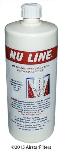 Fast Shipping! NuLine HVAC Condensate Drain Nu-Line Cleaner , 32 ounce - Sold Each