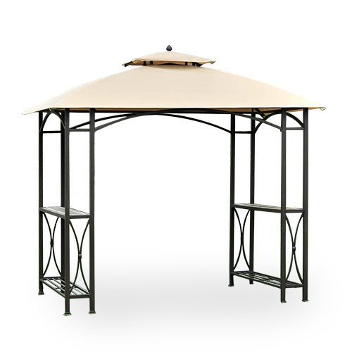 Garden Winds Replacement Canopy for Sheridan Grill Gazebo Model L-GG040PST RipLock 350