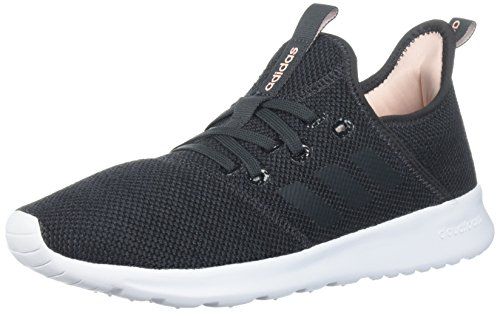 adidas Performance Women's Cloudfoam Pure Running Shoe, Carbon/Carbon, 6.5 M US