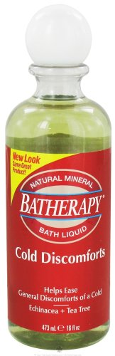 Batherapy Cold Discomforts Mineral Bath Liquid, 16 Ounce Bottle ()