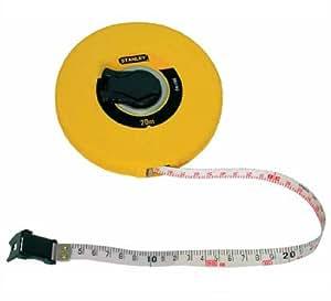 Stanley 0-34-297 - Cinta métrica arrollable (fibra de vidrio, 30 m)