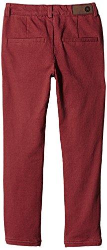 Troizenfants LIZZY-Pantalones Niñas, rojo (Bordeaux)