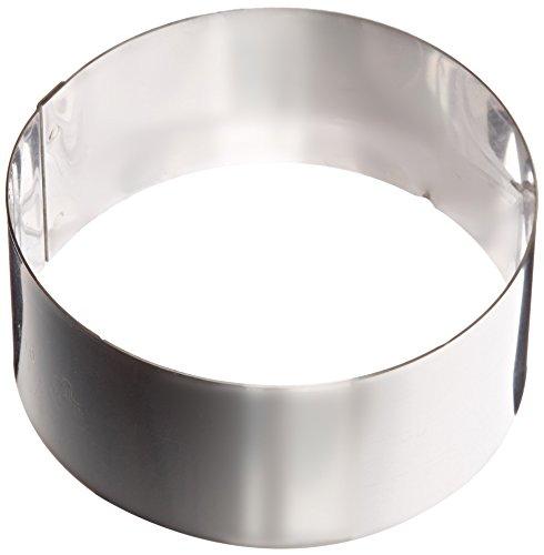 - Matfer Bourgeat 371802 Ice Cake Ring, Silver