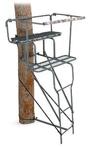 Amazon Com Ameristep 15 Feet Two Man Ladder Stand Camo