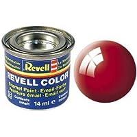 Revell esmalte de pintura 14ml Brillante Ardiente Rojo
