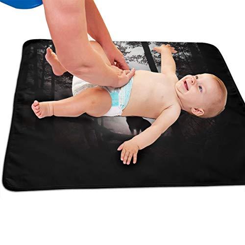 V5DGFJH.B Baby Portable Diaper Changing Pad Deer King Urinary Pad Baby Changing Mat 31.5