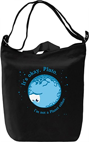 Pluto Borsa Giornaliera Canvas Canvas Day Bag| 100% Premium Cotton Canvas| DTG Printing|