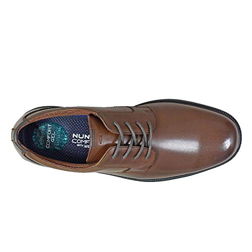 Brown Plain Oxford Mens Marvin Toe ST Bush Nunn ZwRpBqw8