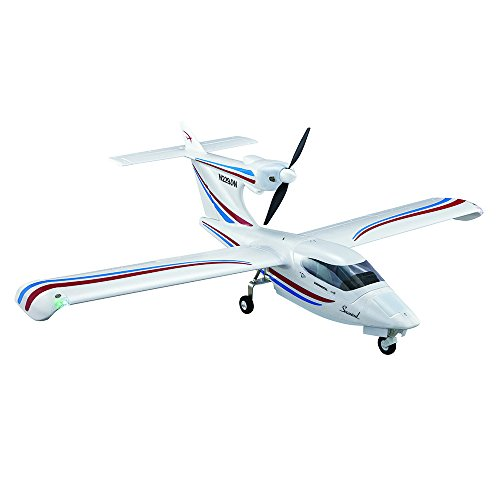 Flyzone Seawind Brushless Electric Powered Receiver Ready 56.5 Inches Wingspan Amphibious Model Seaplane (Flyzone Landing Gear)
