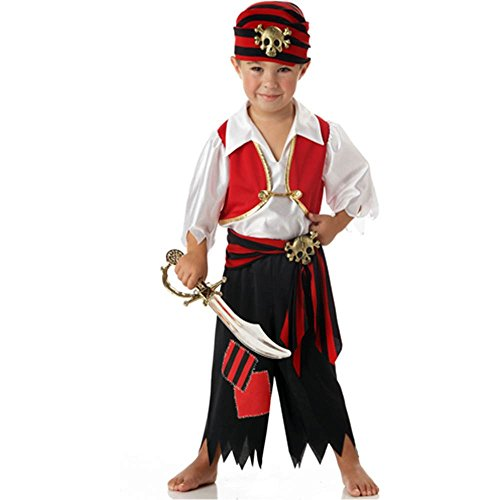 Waste Material Costumes (Ahoy Matey Toddler Costume - Toddler Large)
