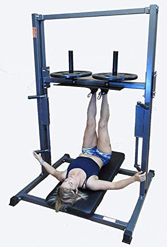 TDS Premier Vertical Leg Press – Silver Grey