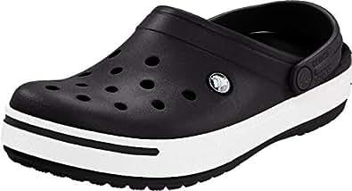 Crocs Men's 11989M Clog,Black/Black,4 M US
