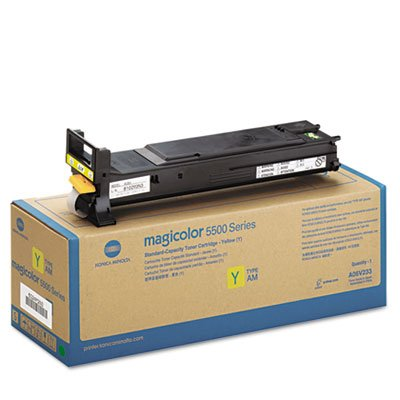 A06V233 High-Yield Toner, 12000 Page-Yield, Yellow, Sold as 1 Each
