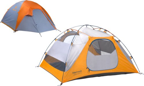 Marmot Limelight 4 Persons Tent, Green, One, Outdoor Stuffs