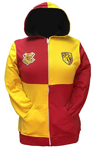 (Bioworld Harry Potter Junior's Gryffindor Reversible Zip Up Hoodie (XX-Large))
