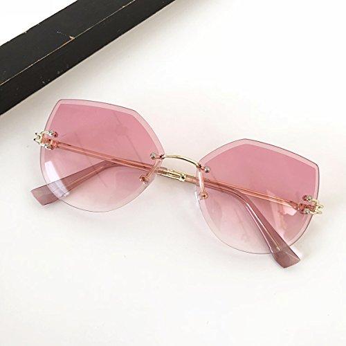 De sans Lunettes Soleil Cadre zhenghao pink Xue De 5XqPwvwF