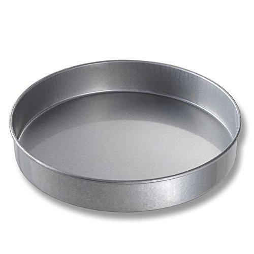 Chicago Metallic 41220 Cake Pan, 12 inch Dia, 2 inch Deep, Non-coated 26-ga. Aluminized Steel