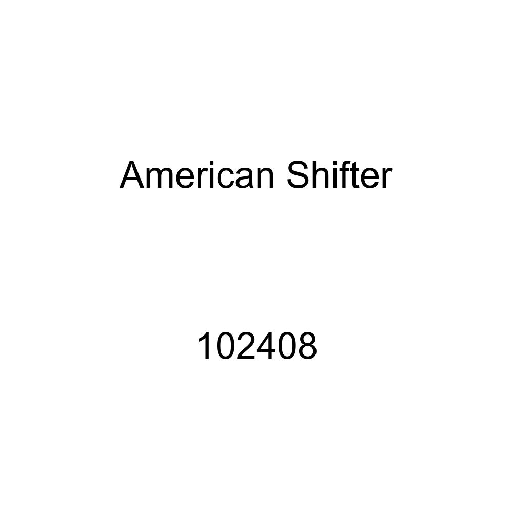American Shifter 102408 Red Shift Knob with M16 x 1.5 Insert Black Pump