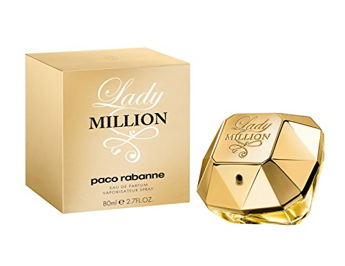 Lady Million by Paco Rabanne Eau De Parfum Spray for Women, 2.70 ()