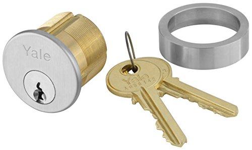 Yale 2153X1-1/8 x 626 Mortise Cylinder, Para Keyway, Keyed Random, 6 Pin, 1 1/8