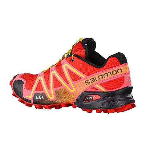Salomon Speedcross 3, Zapatillas de Trail Running para Mujer Red