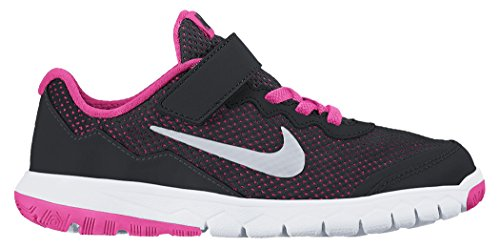 Nike Girls' Preschool Flex Experience 4 Running Shoes #749820-001 (10.5 Little Kid M) by NIKE