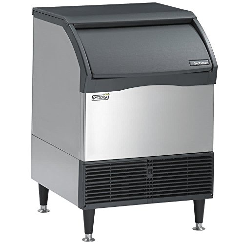 Scotsman Maker Ice Undercounter (Scotsman CU1526MA Prodigy Self-Contained Undercounter Ice Machine, Air Condenser 150 lb. Production 80 lb. Storage)