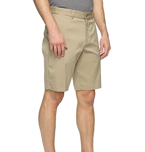 NIKE Men's Flex Core Golf Shorts, Khaki/Khaki, Size 42 Mens Flat Front Golf Short